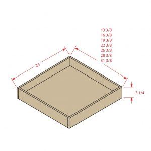 Roll-out Drawer Kits-Fits
